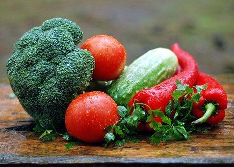 複数の野菜たち