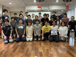 杉山先生によるディベロプメンタルトレーニングセミナーの集合写真